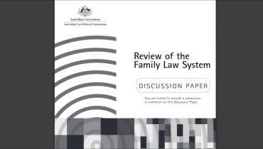 ALRC Discussion Paper - Review of the Family Law System